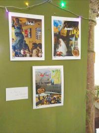 """Foto der Ausstellung """"Junge Künstler"""""""