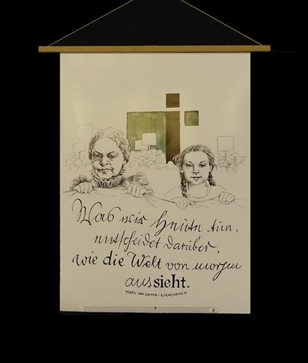 Kalligraphie von Kornelia Roth.